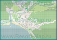 Подробная карта поселка Лермонтово