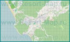 Подробная карта поселка Новомихайловский