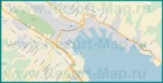 Подробная карта Новороссийска с улицами и номерами домов