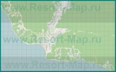 Подробная карта поселка Ольгинка