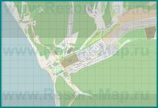 Подробная карта поселка Сукко