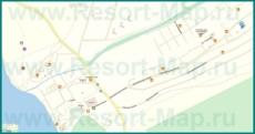 Подробная карта Сукко с улицами и номерами домов