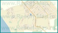 Подробная карта Супсеха с улицами и домами