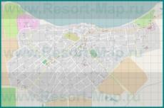 Подробная карта города Тамань