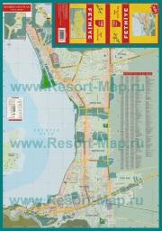 Подробная карта города Фетхие