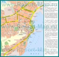 Туристическая карта Керчи с достопримечательностями