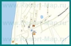Подробная карта Любимовки с улицами и домами