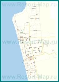 Подробная карта поселка Николаевка с улицами