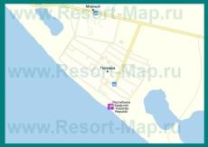 Подробная карта села Поповка с улицами