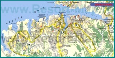 Карта бухты Севастополя