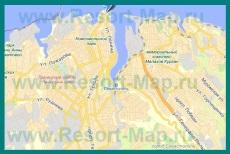 Подробная карта Севастополя с улицами и номерами домов
