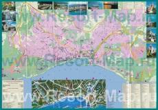 Туристическая карта города Ялта