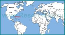 Майами на карте мира