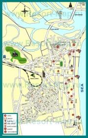 Туристическая карта Нячанга с отелями